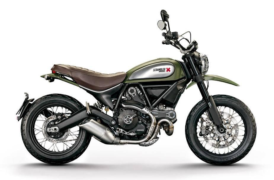 2016 Ducati Scrambler 800 Urban Enduro