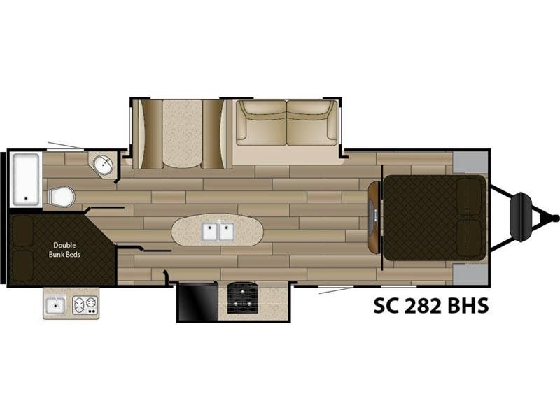 2016 Cruiser Rv Shadow Cruiser RV SC 282BHS