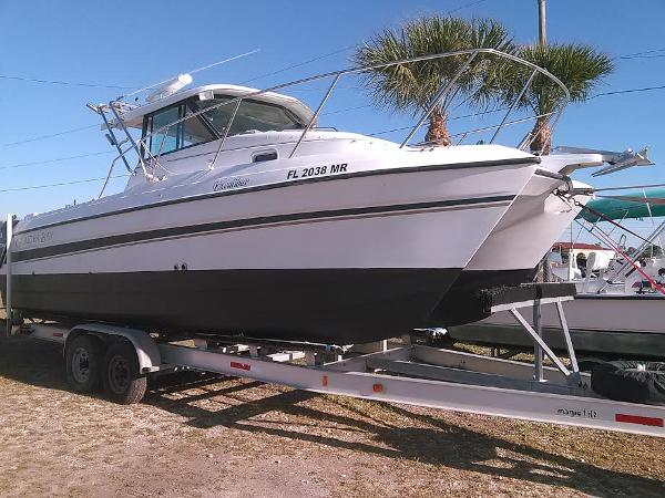 2005 Glacier Bay Cat/Twin 4-stroke Yamaha 150
