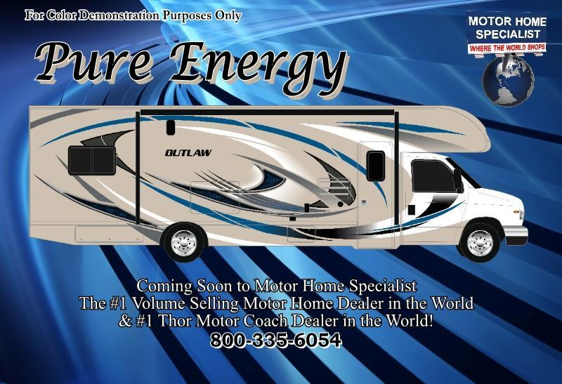 2018 Thor Motor Coach Outlaw 29H Toy Hauler Class C RV for Sale at MHSRV.com