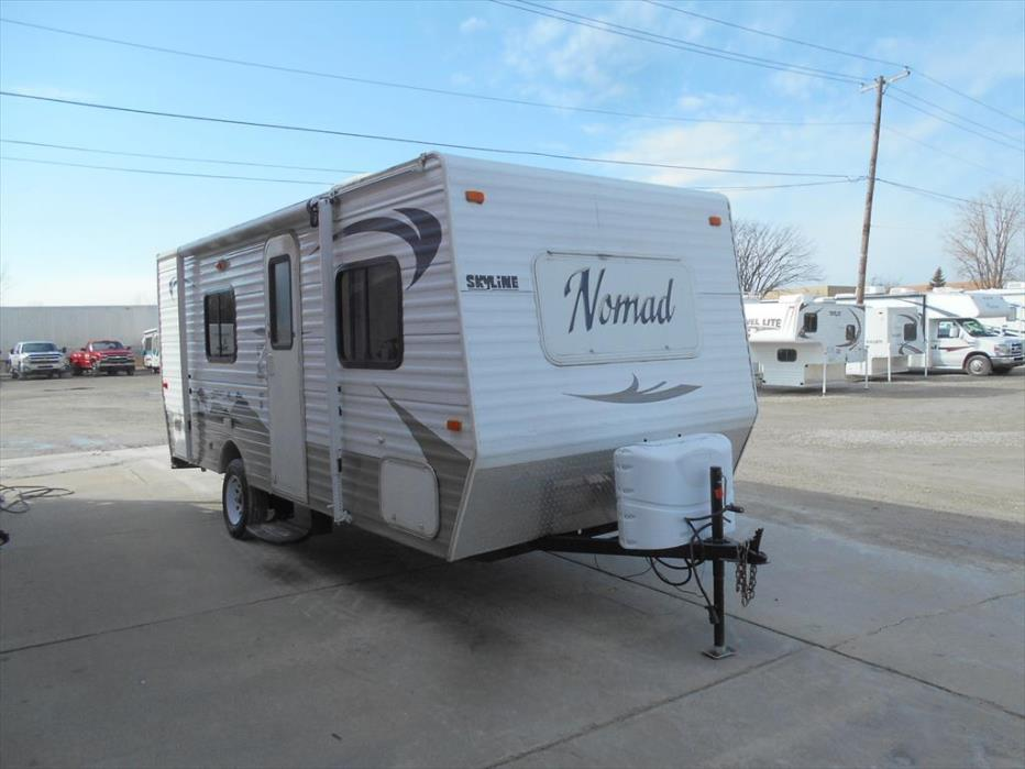 2011 Skyline Nomad Retro 183 - Front Island Queen Bed