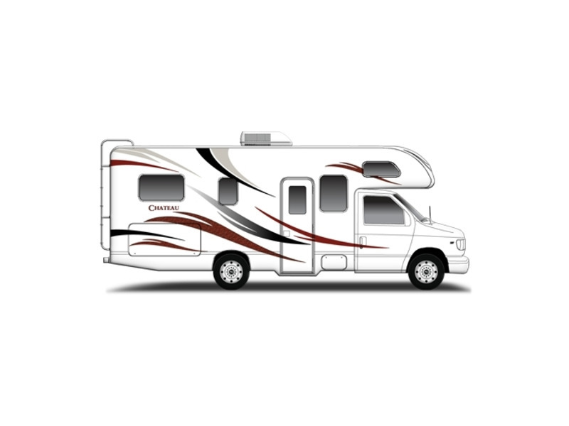 thor motor coach chateau 23u ford rvs for sale