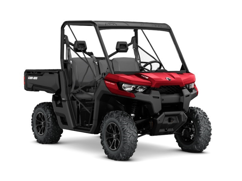 2017 Can-Am Defender DPS HD8 Intense Red
