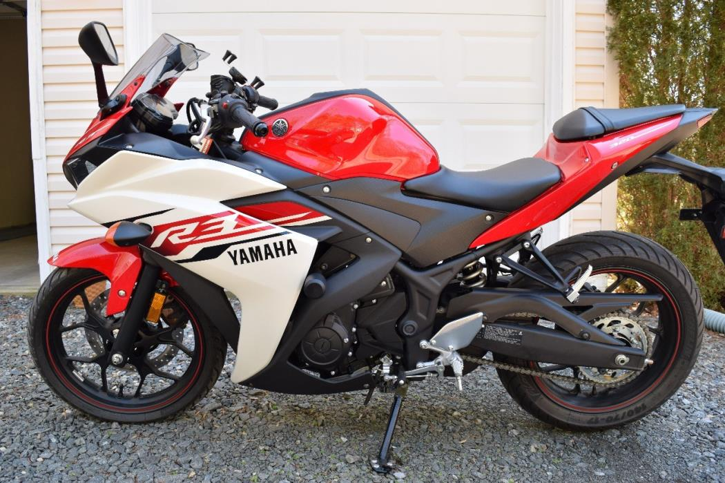yamaha yzf r3 motorcycles for sale in virginia. Black Bedroom Furniture Sets. Home Design Ideas