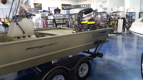 2017 Triton Boats 2072 MVX Sportman