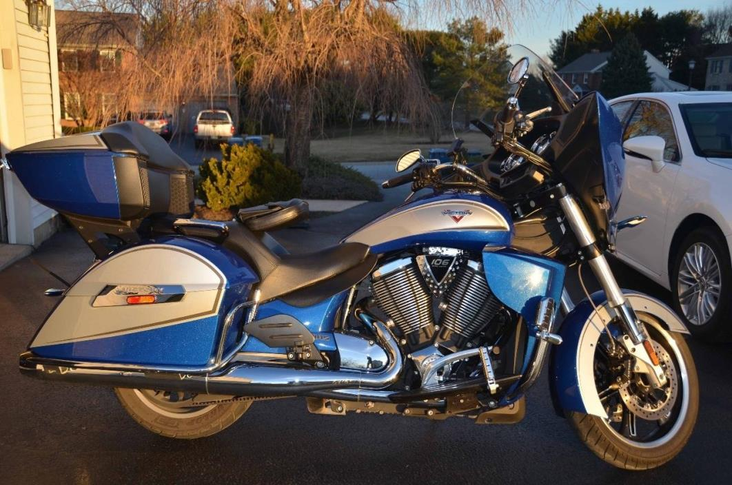 2014 Victory CROSS COUNTRY TOUR