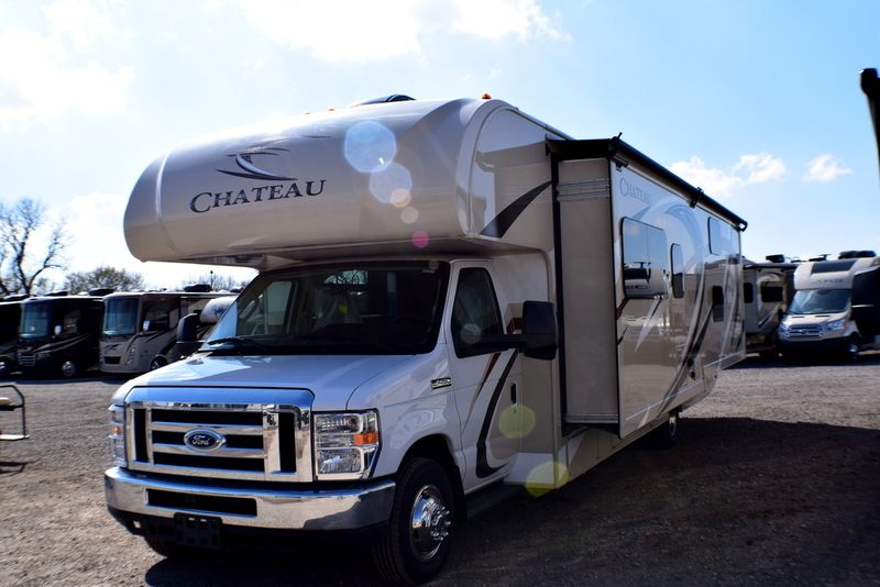 2017 Thor Motor Coach Chateau 31E Bunkhouse Ford