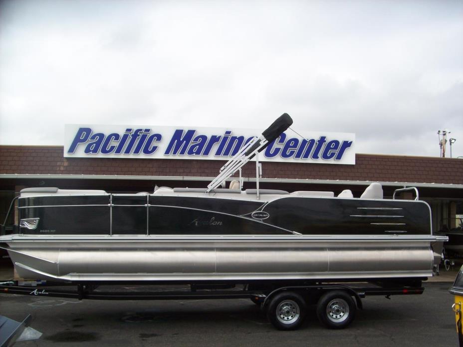 2017 Avalon Catalina Rear Fish 25'-Mercury 115h