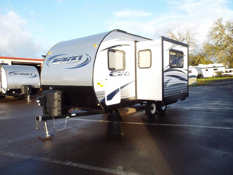 2017 Forest River, Inc. EVO 1850 w/ Slide out - Power Awning - Arctic Package