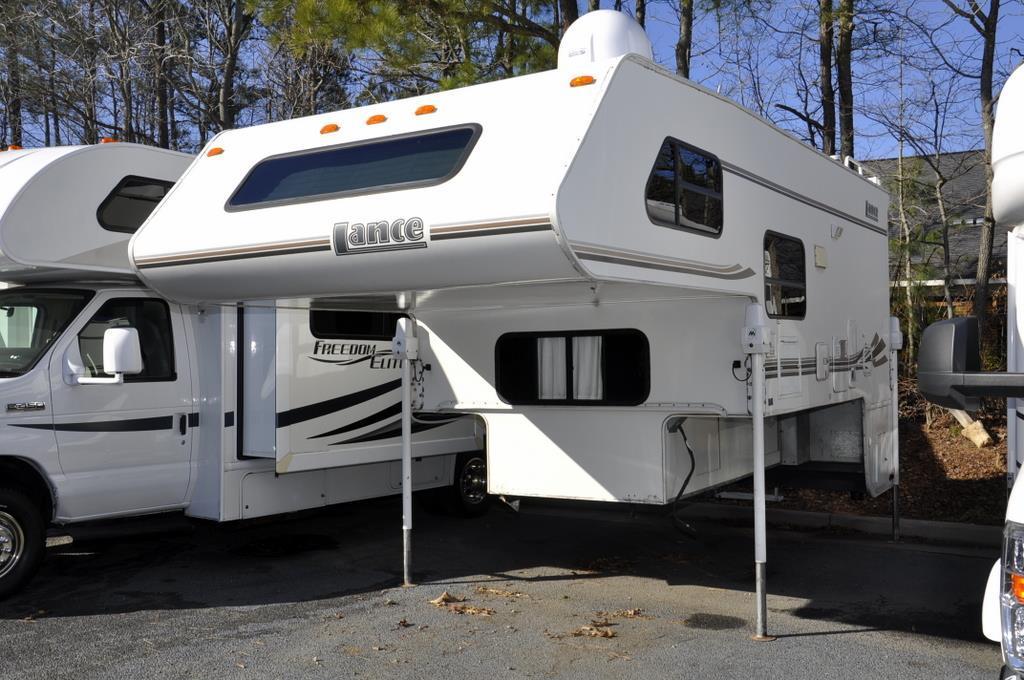lance pickup camper