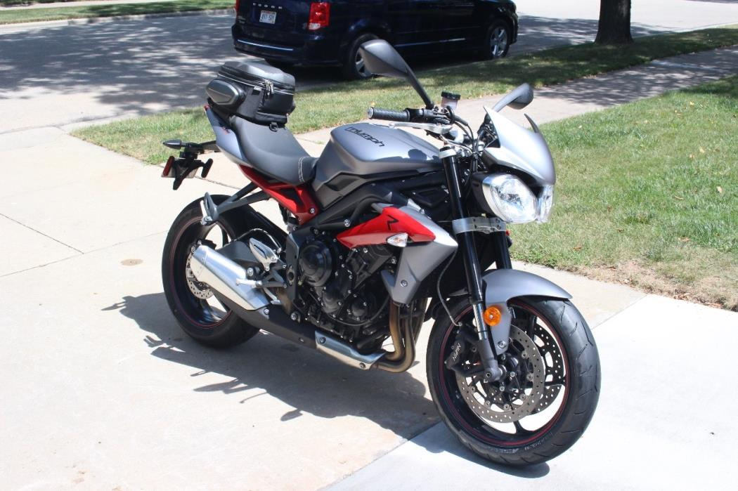 triumph street triple r abs motorcycles for sale in little chute wisconsin. Black Bedroom Furniture Sets. Home Design Ideas