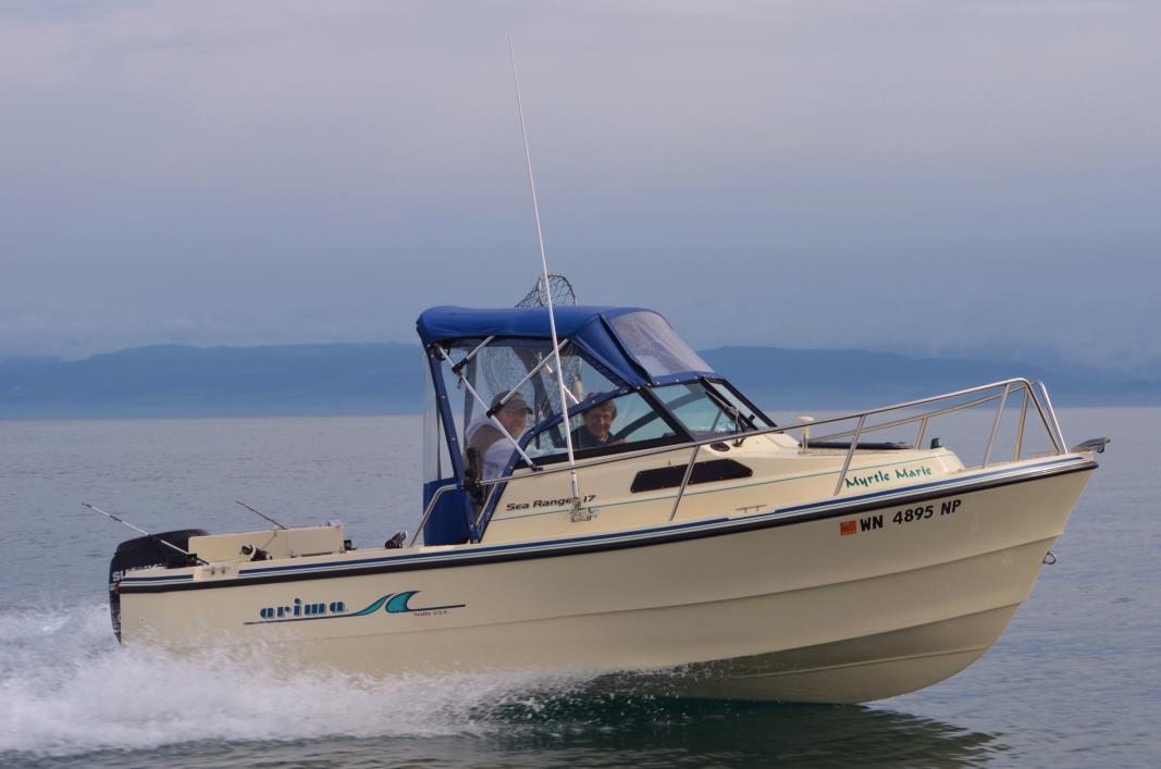 2005 Arima Sea Ranger 17