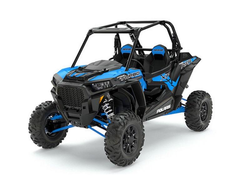 2017 Polaris RZR XP Turbo EPS Velocity Blue