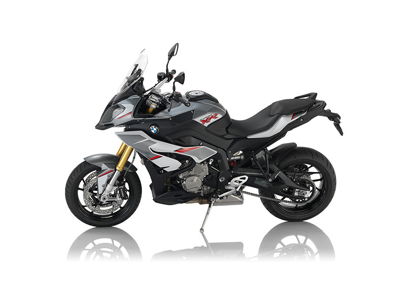 2016 BMW S 1000 XR Light White / Granite Grey Metallic / Racing