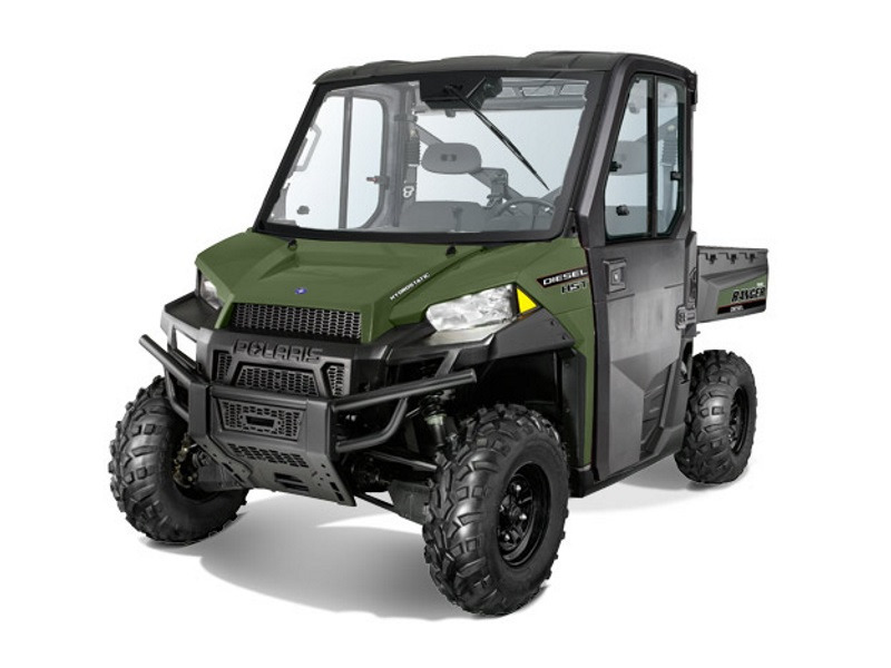 2017 Polaris RANGER Diesel HST Deluxe Sage Green