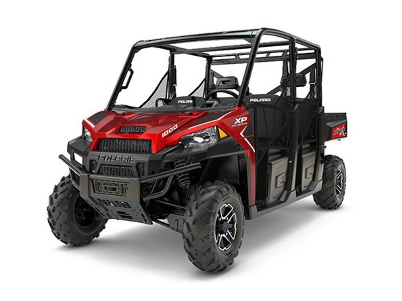 2017 Polaris RANGER CREW XP 1000 EPS Sunset Red
