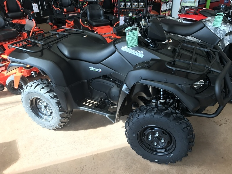 2017 Suzuki KingQuad 750AXi Power Steering Special Edition with Rug