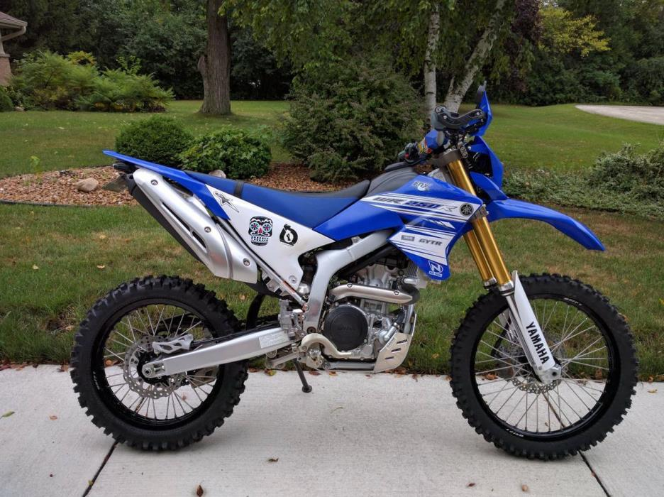 Yamaha wr250r motorcycles for sale in wisconsin for Yamaha wr250r horsepower