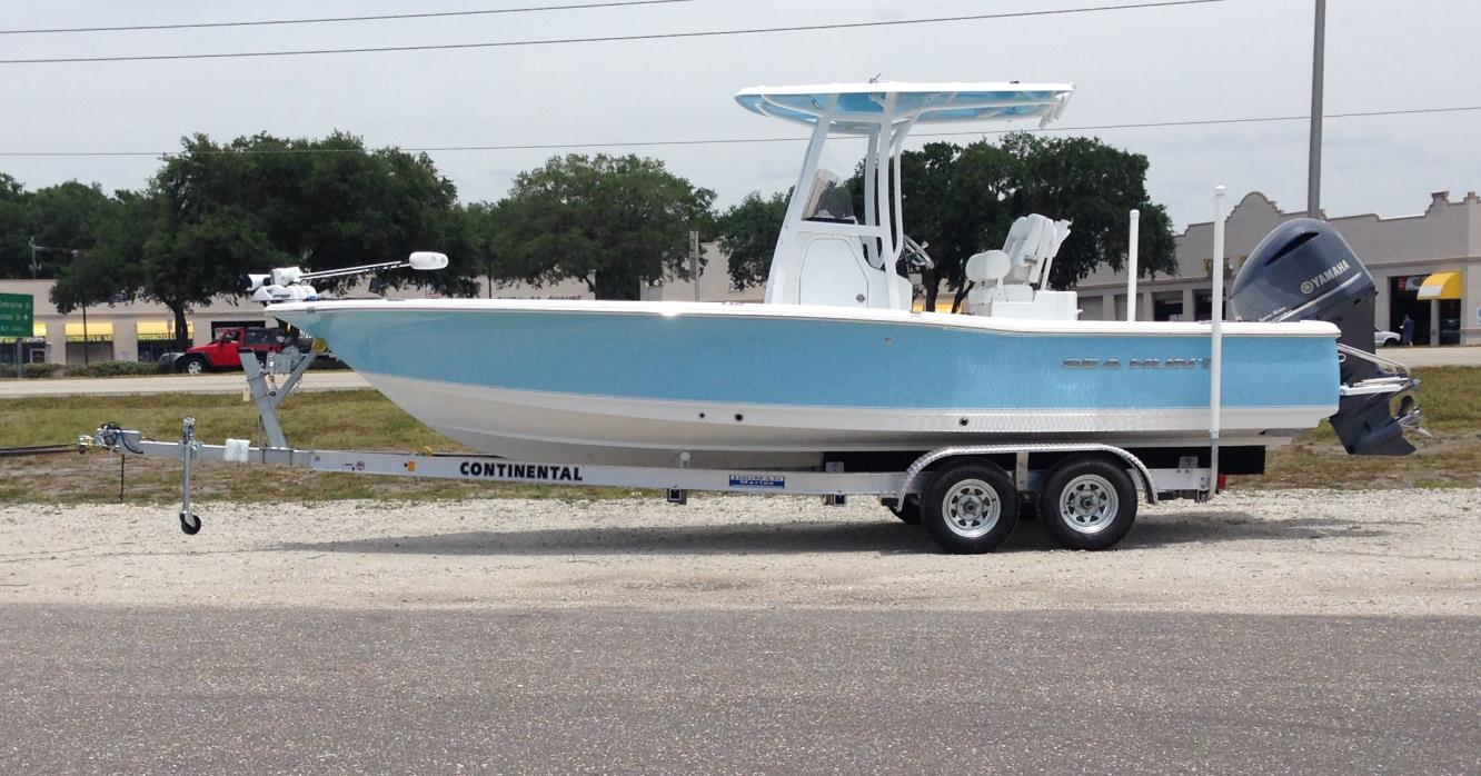 Sea hunt bx 24 br boats for sale in destin florida for Self deploying trolling motor