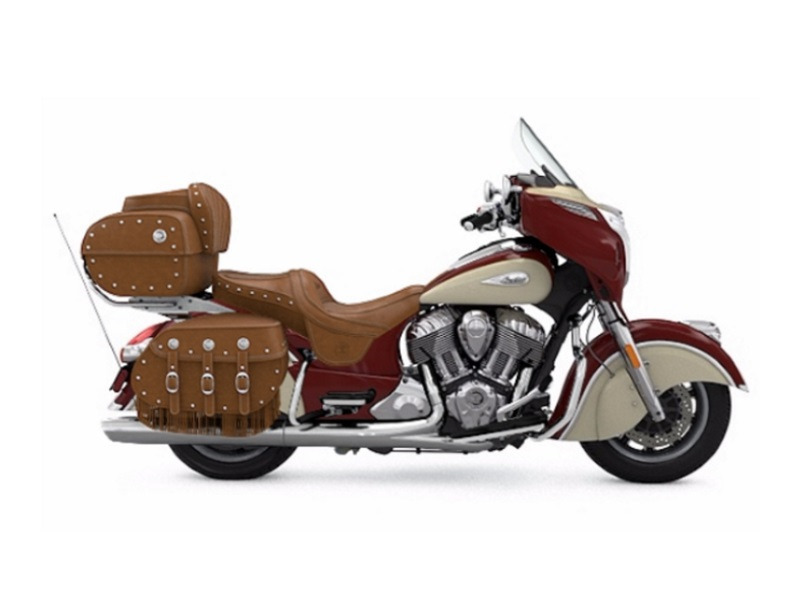 2017 Indian Motorcycle Roadmaster Classic Indian Motorcycle Red over Ivory Cre