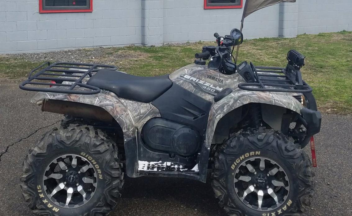 Yamaha motorcycles for sale in brilliant ohio for Yamaha grizzly 450 for sale