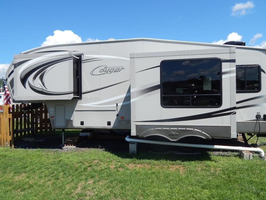 2012 Keystone COUGAR HIGH COUNTRY 246RLS
