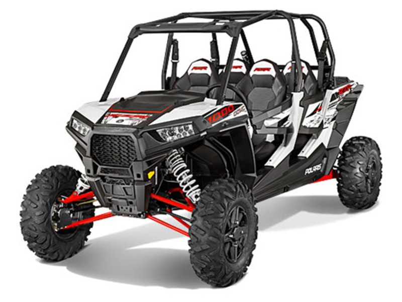 2014 Polaris RZR XP 4 1000 EPS White Lightning