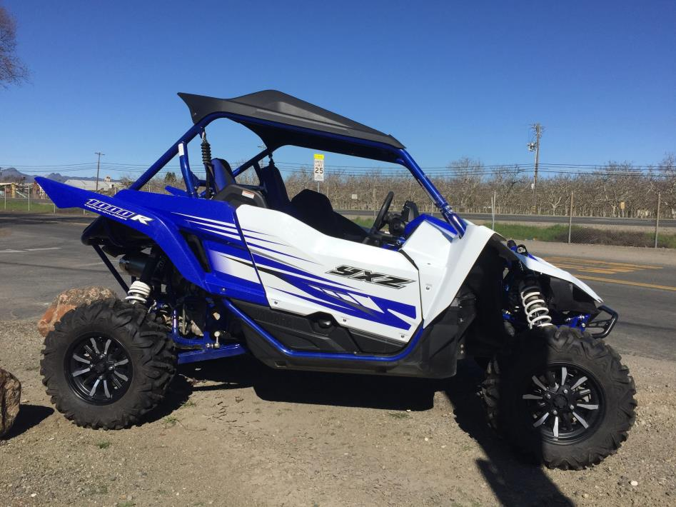 2016 Yamaha YXZ1000R - Racing Blue/White w/Sunt