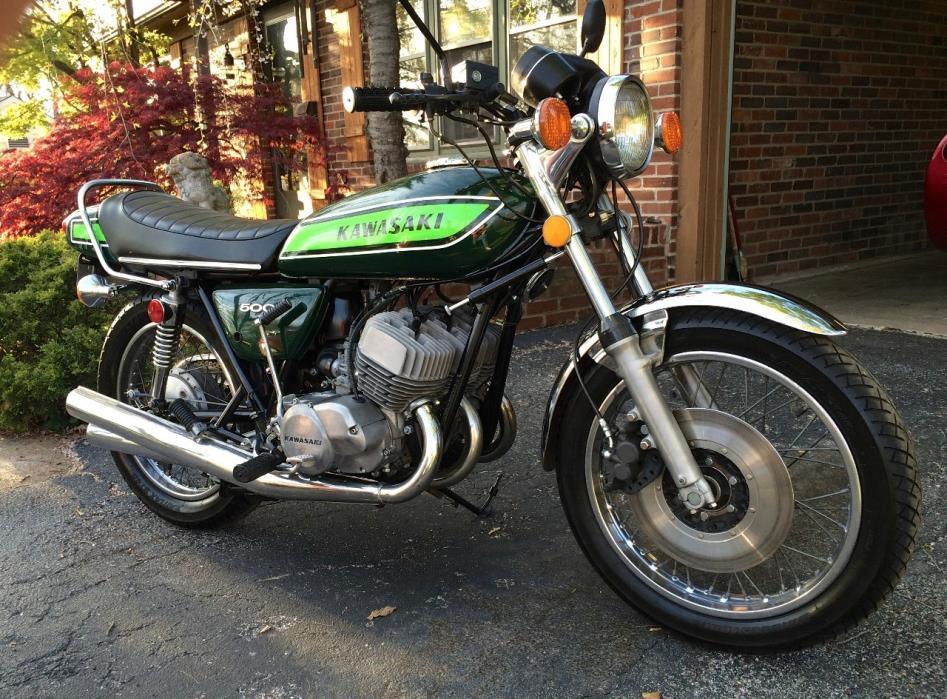 1974 Kawasaki MACH III H1 500