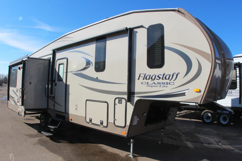 2017 Forest River Flagstaff Classic Super Lite Travel Trailers 8529IKBS
