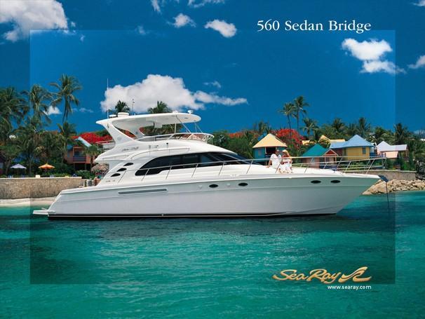 2003 Sea Ray 560 Sedan Bridge