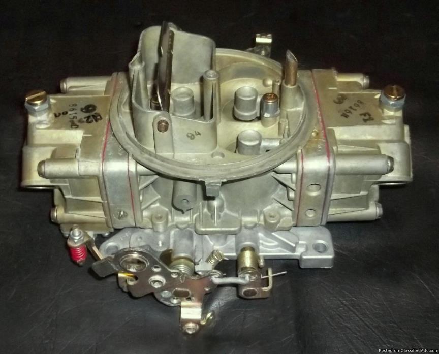 Holley 4778-2 / 700 cfm 4150 Double Pumper Carburetor, Rebuilt