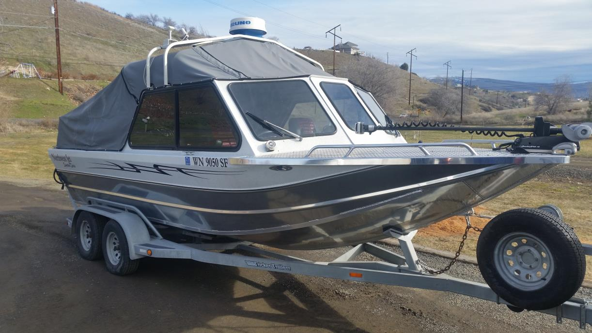 1998 Northwest Jet Boats White Water Signature Series