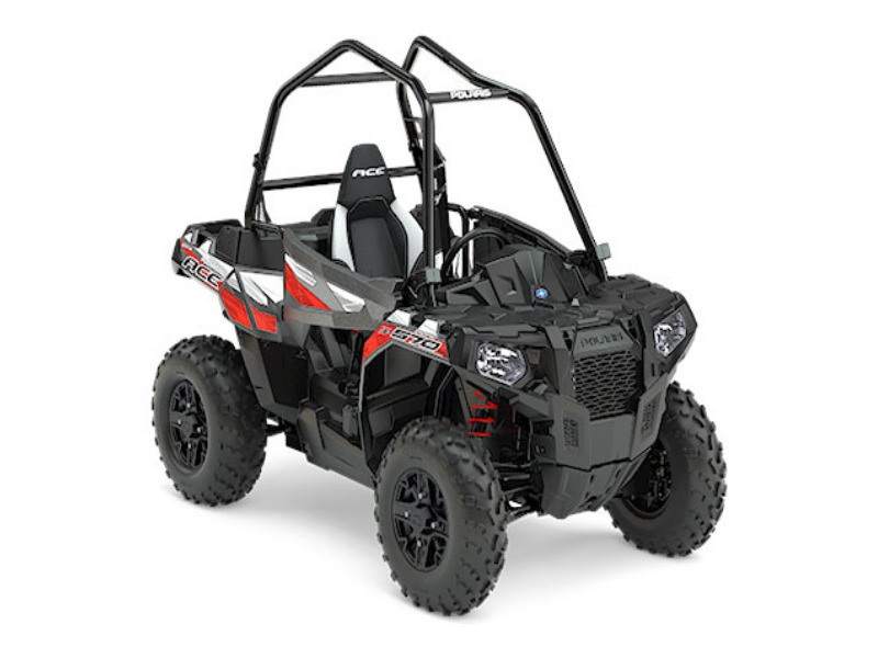 2017 Polaris ACE 570 SP Titanium Matte Metallic