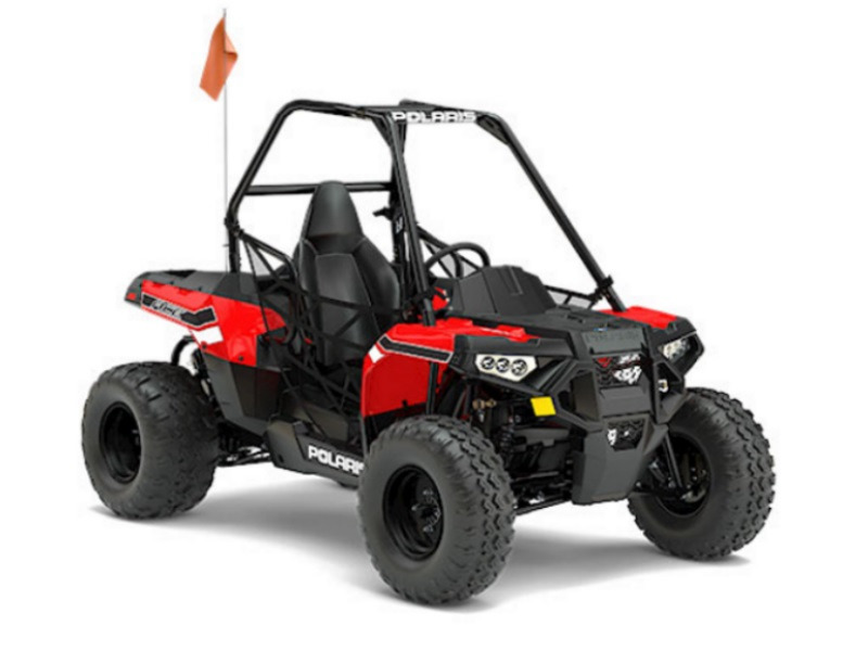 2017 Polaris ACE 150 EFI Indy Red