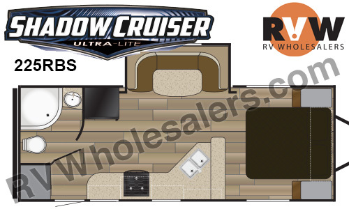 2017 Cruiser Rv Shadow Cruiser 225RBS