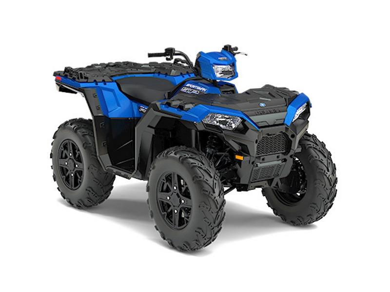 2017 Polaris Sportsman 850 SP Radar Blue