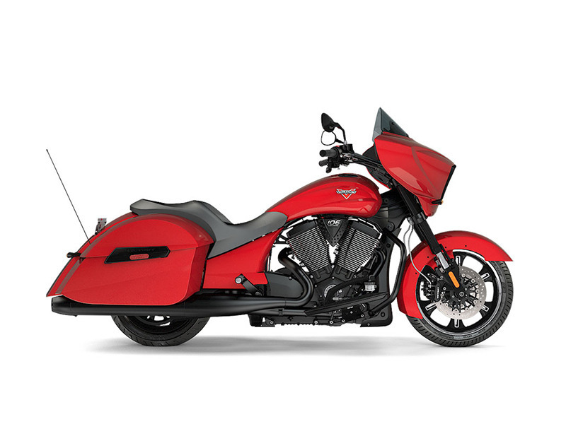 2017 Victory Motorcycles Cross Country Gloss Sunset Red