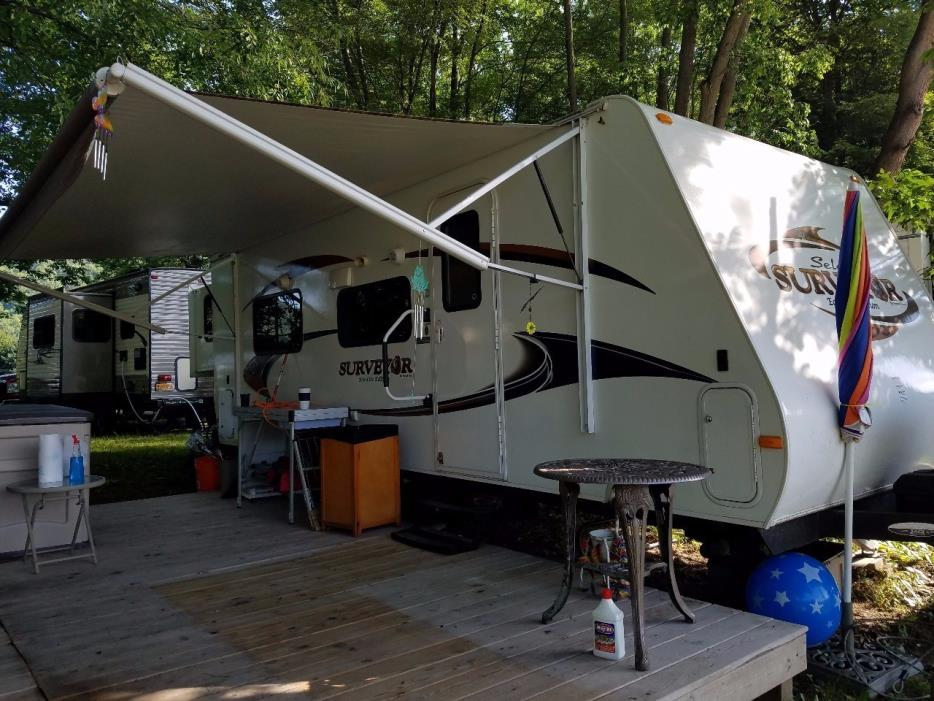 2012 Forest River SURVEYOR 235RKS