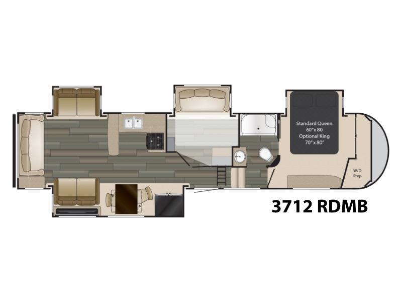 2018 Heartland Gateway 3712 RDMB