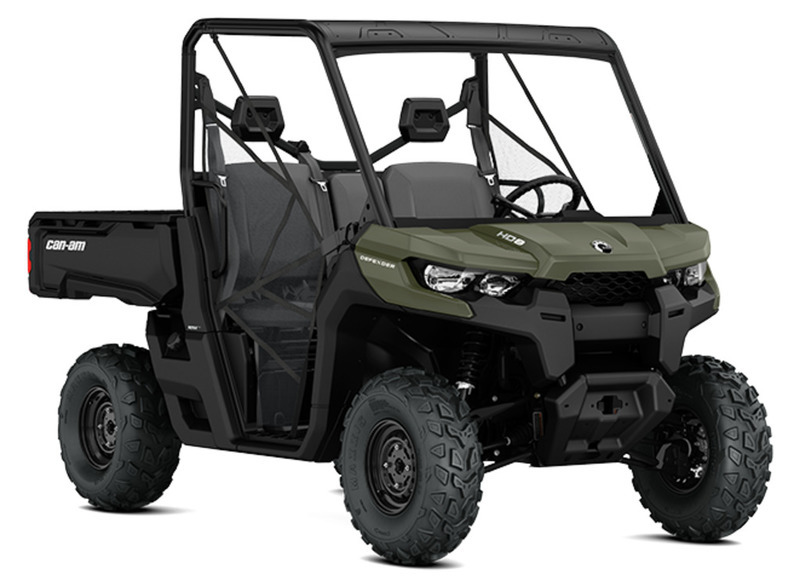 2018 Can-Am Defender HD8 Convenience Package