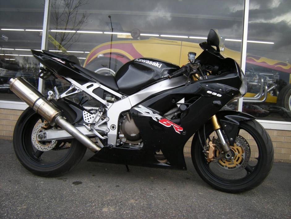 2003 Kawasaki Ninja ZX-6R 636