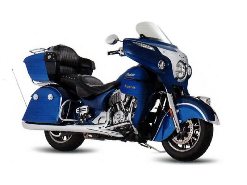 2017 Indian Motorcycle Roadmaster Icon Blue Sapphire & Brilliant Blue