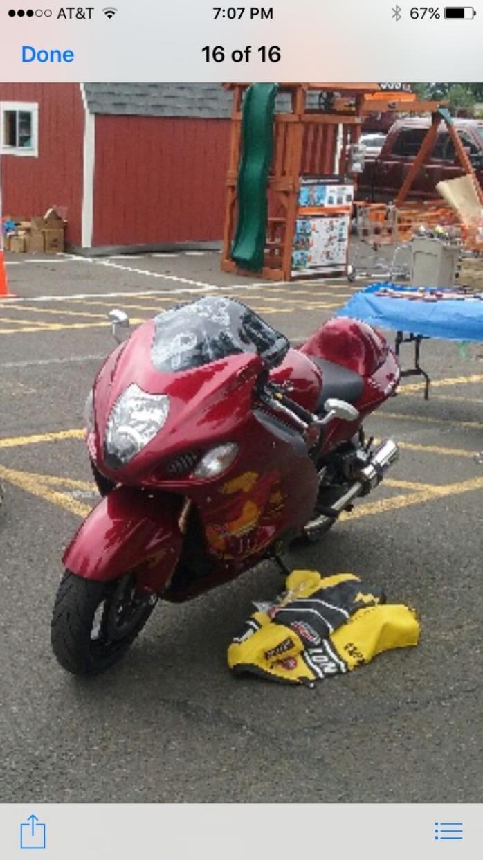 2007 Suzuki HAYABUSA LIMITED EDITION