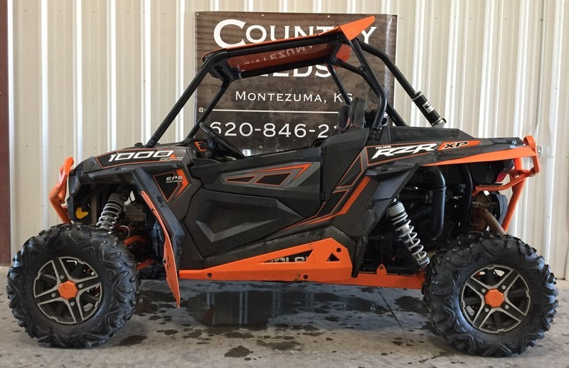 2014 Polaris RZR XP 1000 EPS Titanium Matte Metallic LE