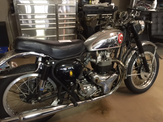 1963 BSA GOLD STAR