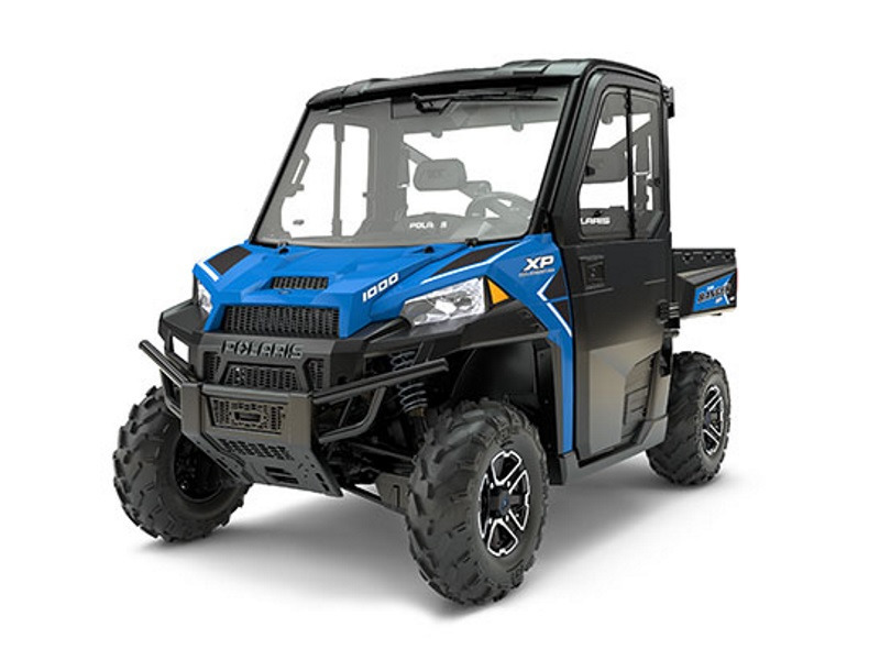 2017 Polaris RANGER XP 1000 EPS Northstar HVAC Edition Velocity Blue