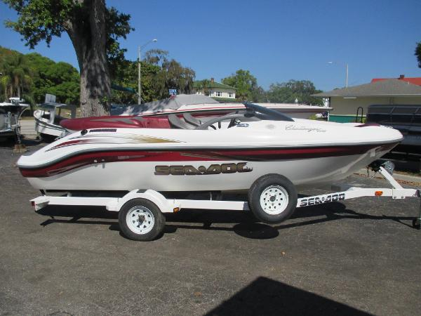 sea doo 1800 challenger boats for sale