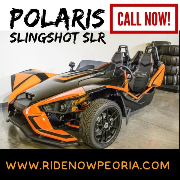 2017 Polaris Slingshot Reverse Trike SLR Orange Madness