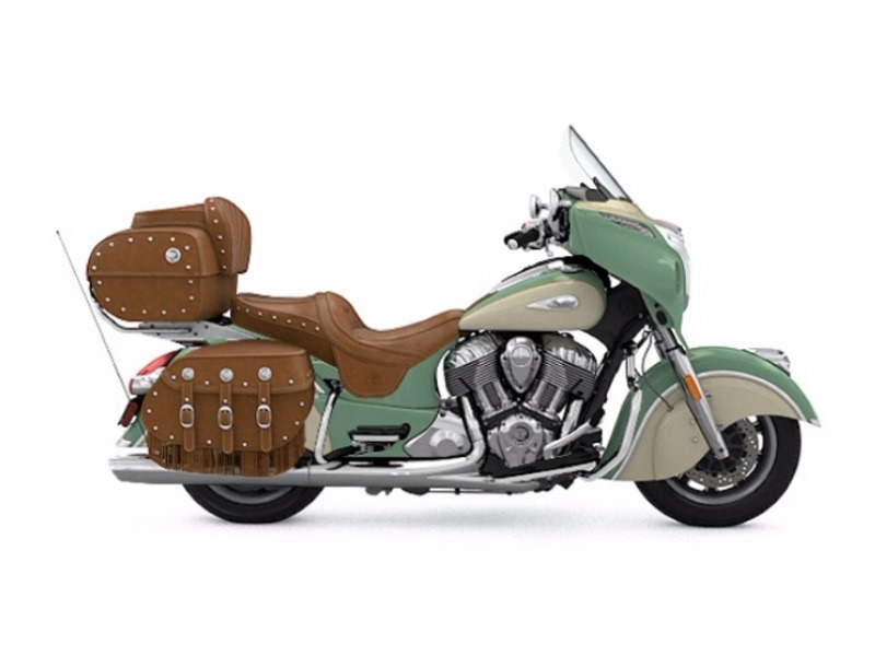 2017 Indian Motorcycle Roadmaster Classic Willow Green over Ivory Cream